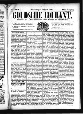 Goudsche Courant 1909-01-21