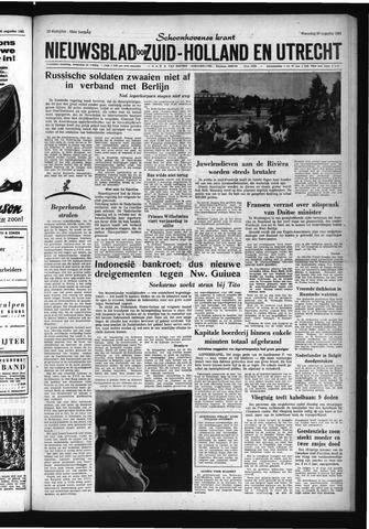 Schoonhovensche Courant 1961-08-30