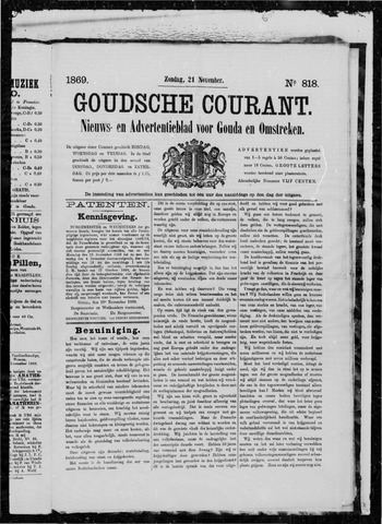 Goudsche Courant 1869-11-21