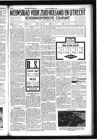 Schoonhovensche Courant 1933-11-24
