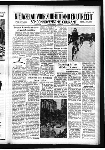 Schoonhovensche Courant 1956-07-06