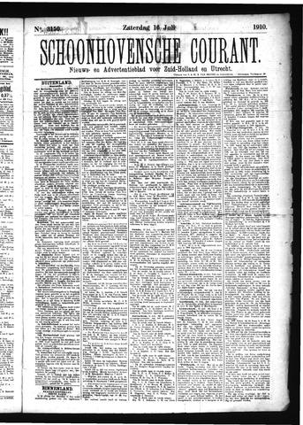 Schoonhovensche Courant 1910-07-16