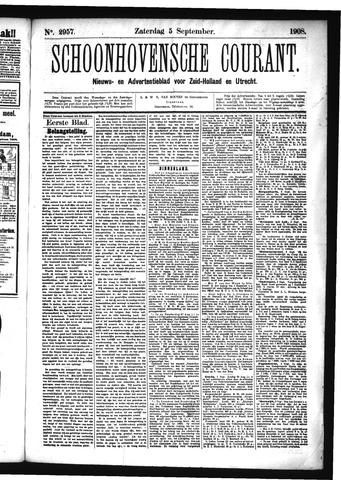 Schoonhovensche Courant 1908-09-05