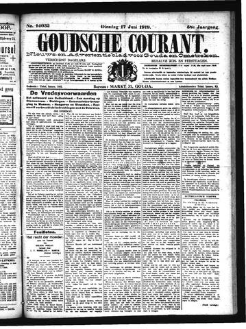 Goudsche Courant 1919-06-17