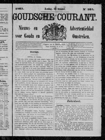 Goudsche Courant 1863-10-11