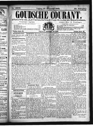 Goudsche Courant 1912-12-27