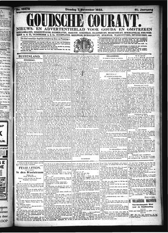 Goudsche Courant 1922-11-07