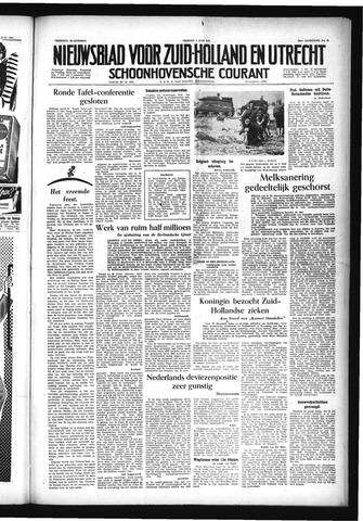 Schoonhovensche Courant 1954-06-04