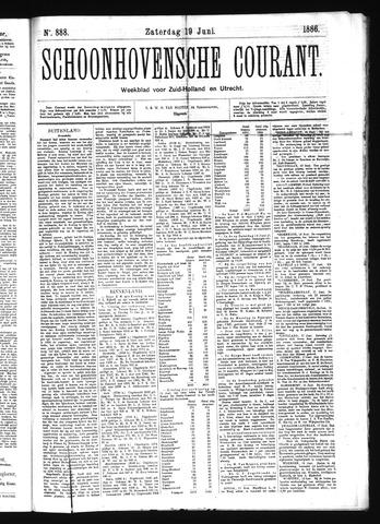 Schoonhovensche Courant 1886-06-19