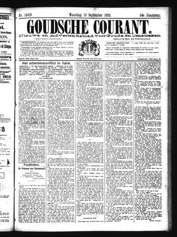Goudsche Courant 1920-09-13