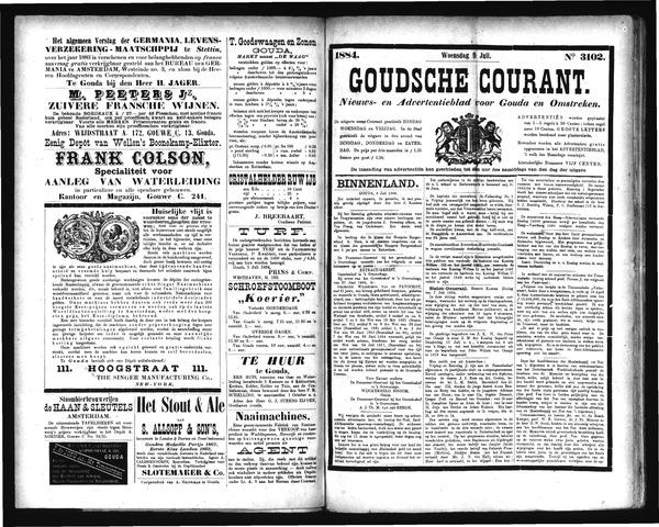 Goudsche Courant 1884-07-09