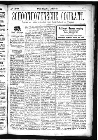 Schoonhovensche Courant 1917-10-23