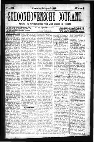 Schoonhovensche Courant 1921-01-03