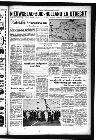 Schoonhovensche Courant 1967-09-25