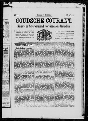 Goudsche Courant 1871-02-19