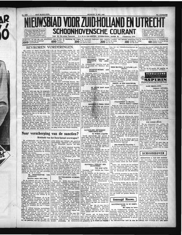 Schoonhovensche Courant 1936-05-18