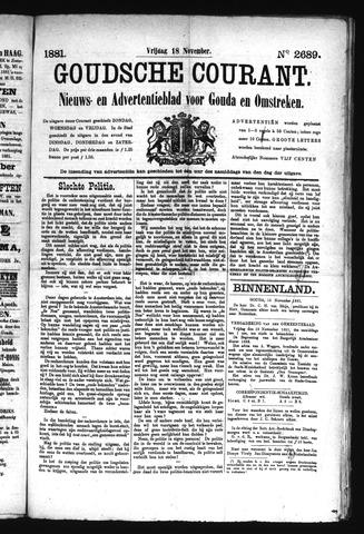 Goudsche Courant 1881-11-18