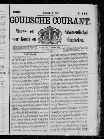 Goudsche Courant 1863-05-03