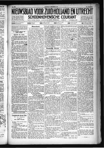 Schoonhovensche Courant 1930-09-15