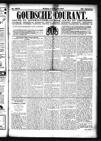 Goudsche Courant 1927-02-04