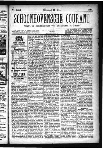Schoonhovensche Courant 1915-05-11