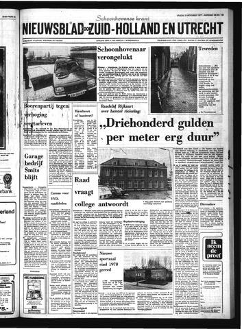 Schoonhovensche Courant 1977-11-25