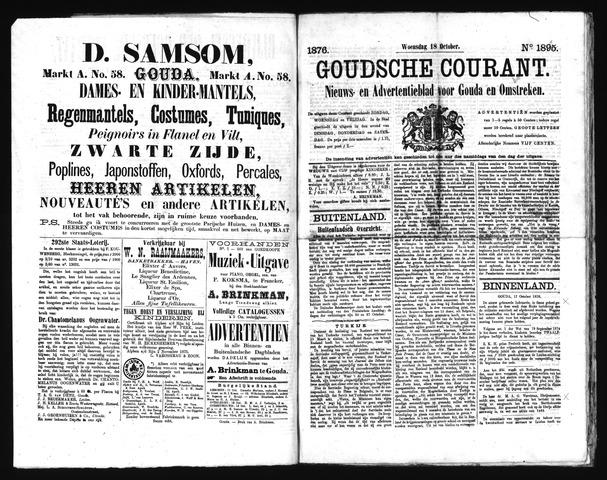 Goudsche Courant 1876-10-18
