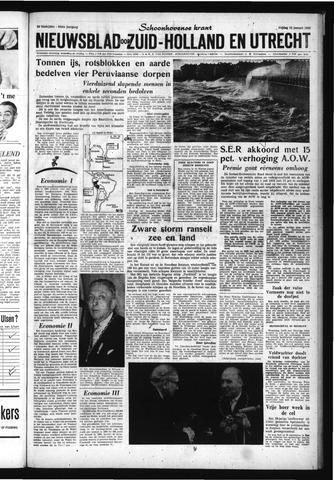 Schoonhovensche Courant 1962-01-12