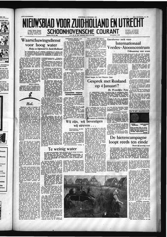 Schoonhovensche Courant 1953-12-09