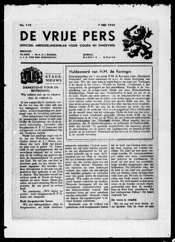 De Vrije Pers 1945-05-07