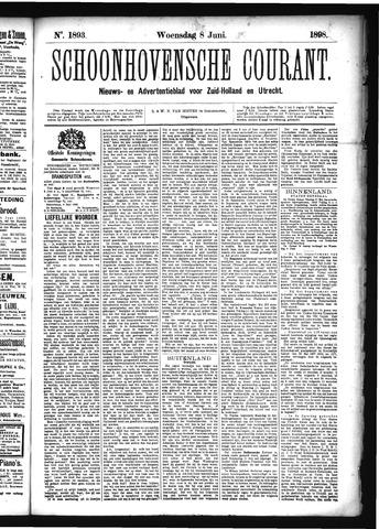 Schoonhovensche Courant 1898-06-08