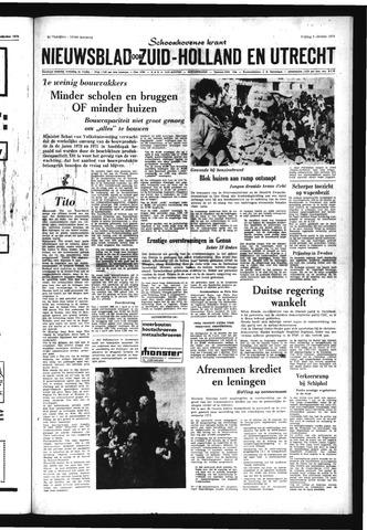 Schoonhovensche Courant 1970-10-09