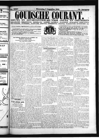 Goudsche Courant 1933-08-09