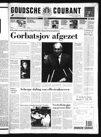 Goudsche Courant 1991-08-19