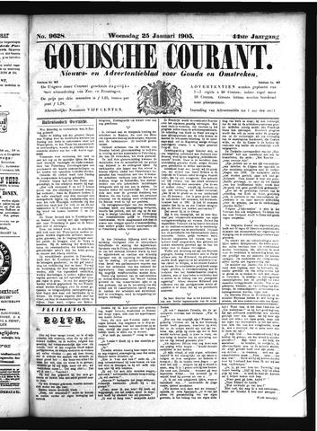 Goudsche Courant 1905-01-25