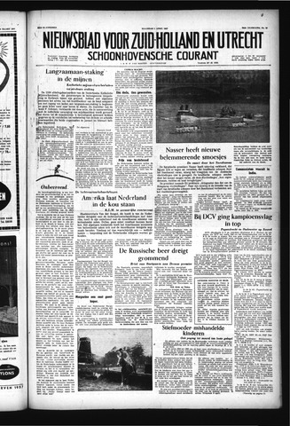 Schoonhovensche Courant 1957-04-01