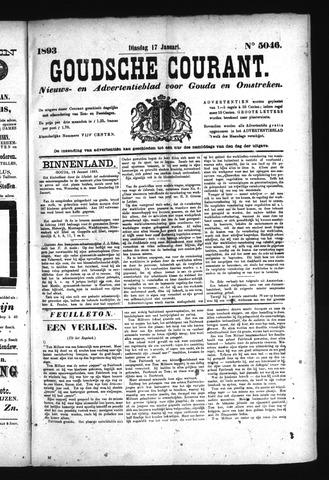 Goudsche Courant 1893-01-17
