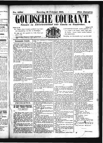 Goudsche Courant 1910-02-19