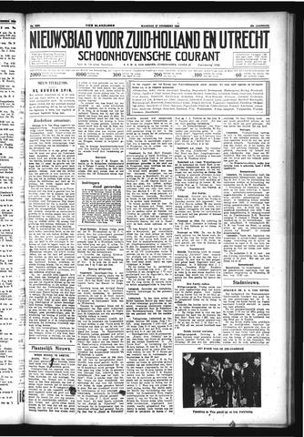 Schoonhovensche Courant 1933-11-27