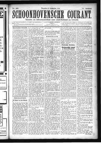 Schoonhovensche Courant 1923-08-06