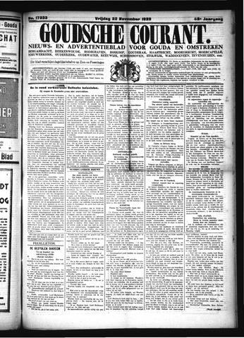 Goudsche Courant 1929-11-22