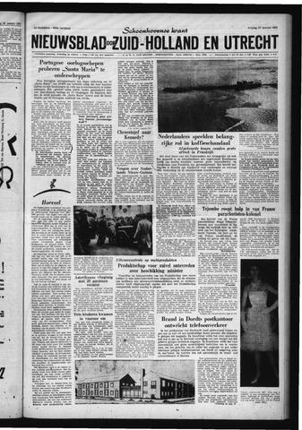 Schoonhovensche Courant 1961-01-27