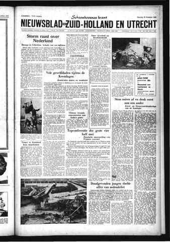 Schoonhovensche Courant 1959-12-28