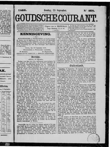 Goudsche Courant 1866-09-23