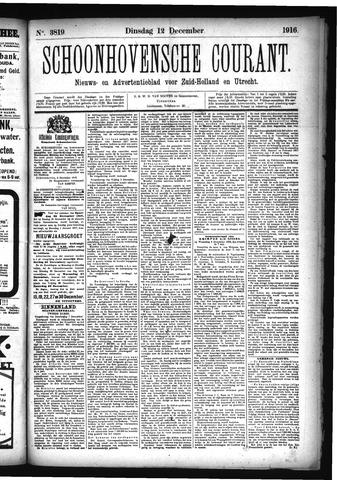 Schoonhovensche Courant 1916-12-12