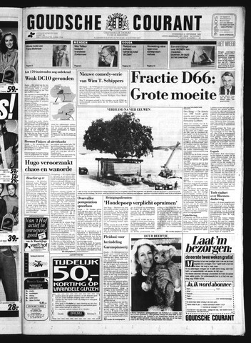Goudsche Courant 1989-09-20