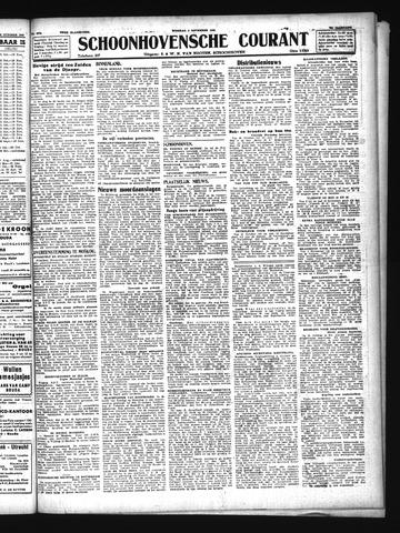Schoonhovensche Courant 1943-11-02