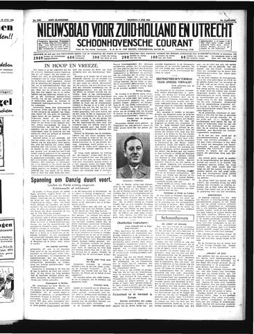 Schoonhovensche Courant 1939-07-03