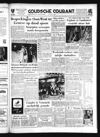 Goudsche Courant 1958-11-17