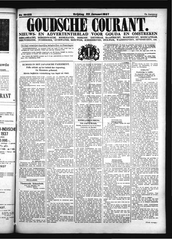 Goudsche Courant 1937-01-22